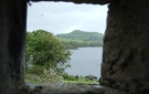 View from inside Parke's Castle, Over Looking Lough Gill