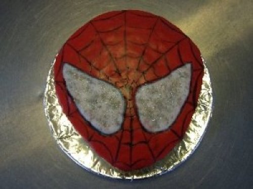 Home baked Cakes to order at irelandglamping.com Spider Man
