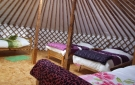 Drift Wood Yurt, Yurts in Ireland. - To Sleep Four Guests.