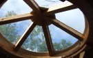 Inside your Cocoon - Celtic Yurt.