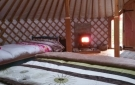 Weaving Willow Celtic Yurt. Yurts Made in Ireland.