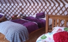 Glamping In Ireland. Luxury Camping In Hand Crafted Yurts made in Ireland.