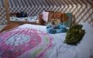 Glamping in Ireland. Family Friendly Glamping. Sunrise Sanctuary Celtic Yurt