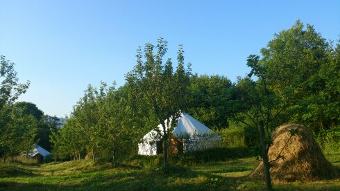 Glamping in Ireland. Luxury Eco Camping Retreat.