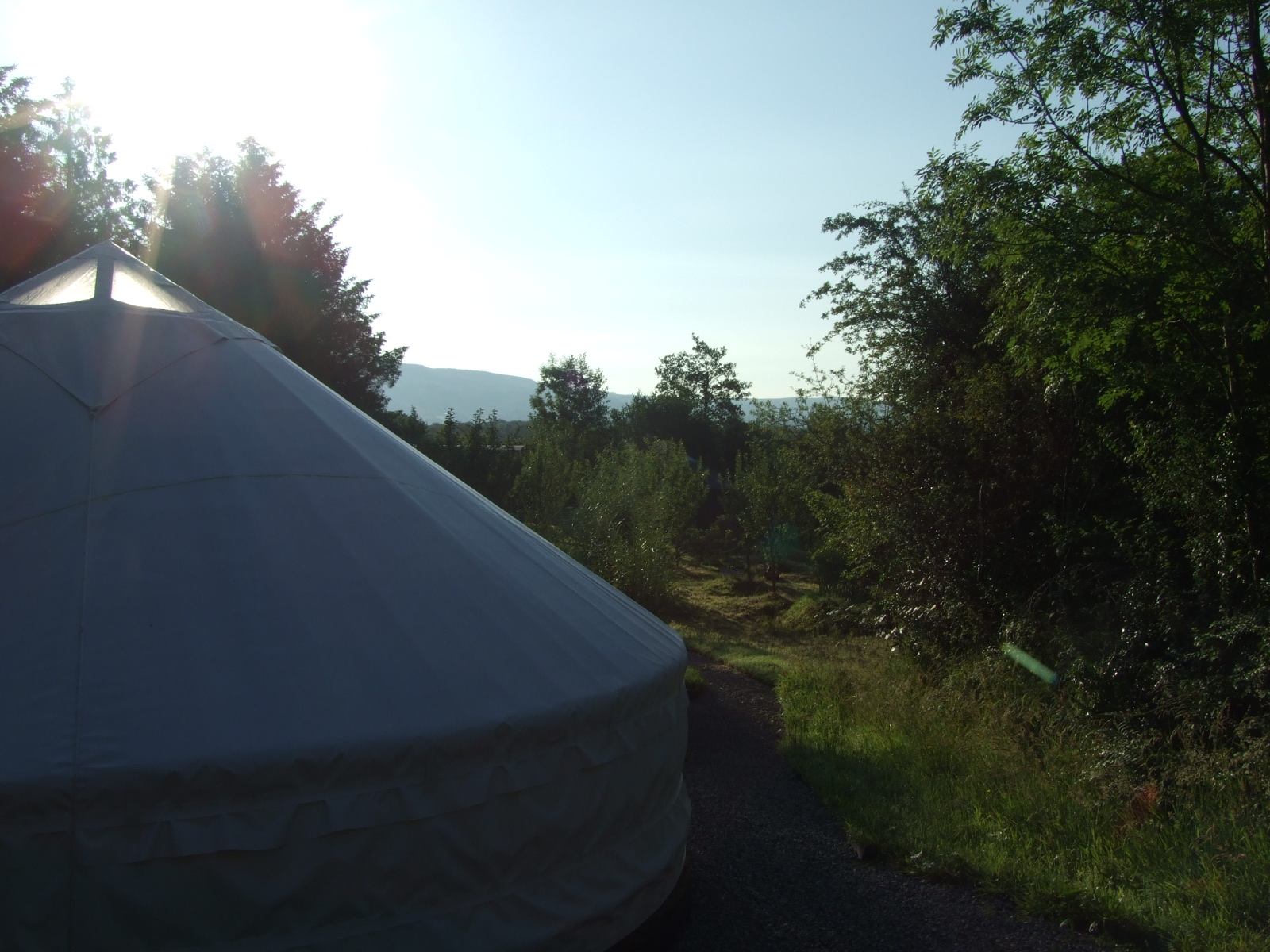 Yurts Made in Ireland. Sunrise Sanctuary Yurt - irelandglamping.com