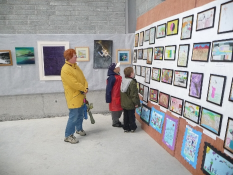 Local Artists Gallery in Drumshanbo.