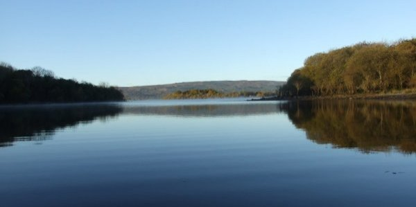 Photography in Ireland - Glamping in Ireland, Leitrim, Lough Allen. Our little lake joins the big!