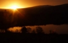 Nature Photography - Sunrise over Ireland, Leitrim, Pink Apple Orchard