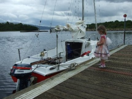 Activities in Ireland, Sailing & Picnic at Spencer Harbour, Lough Allen