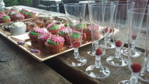2016 - Hen party Ideas - Prosecco and cup cakes arrival 011
