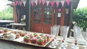 2016 - Hen party Ideas - Prosecco and cup cakes arrival 014