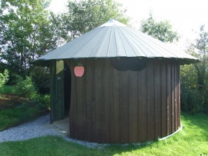 Nature in Ireland. Eco Dry Composting Toilets for Glampsite Facilities in Ireland