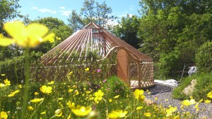 Glamping In Ireland - Hand Built Yurts Made in Ireland.