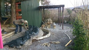 Eco Friendly coppiced Hazel hurdles, and Willow Fedge Projects in Ireland, Leitrim