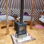 Luxury Yurts in West Ireland. Glamping In Ireland, Leitrim.