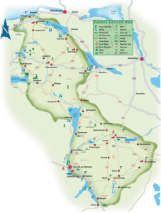 Map Of Leitrim - irelandglamping.com