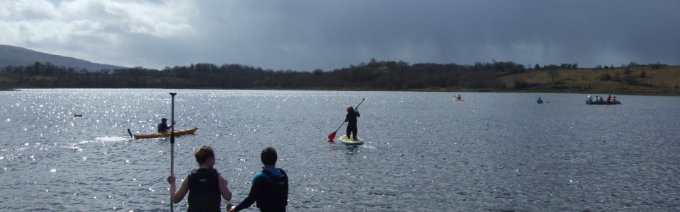 2015 Activities held at Glampsite – Paddle Boarding on Lough Allen (25)