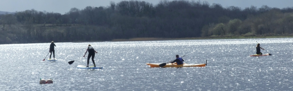 2015 Activities held at Glampsite – Paddle Boarding on Lough Allen (31)
