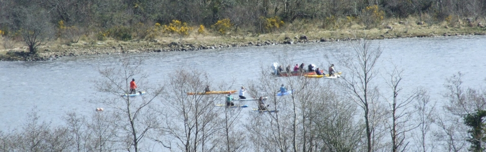 2015 Activities held at Glampsite – Paddle Boarding on Lough Allen (56)