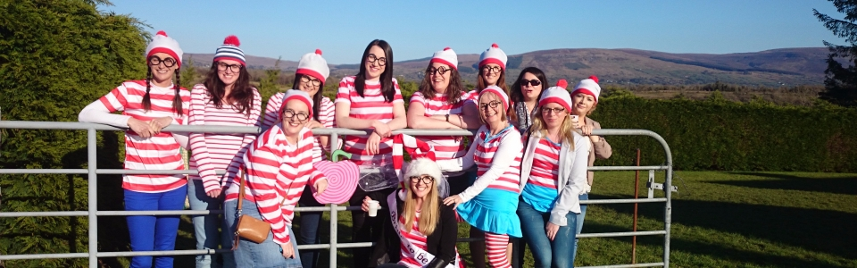 2015 – Themed Hen Parties – Where's Wally. Electric Bike Hire from irelandglamping 034