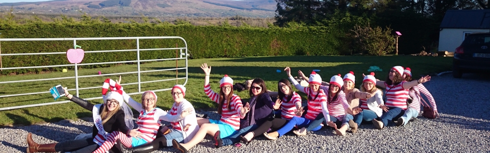 2015 – Themed Hen Parties – Where's Wally. Electric Bike Hire from irelandglamping 037