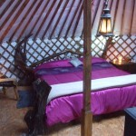 Glamping In Ireland, Leitrim - Interior Of Yurts
