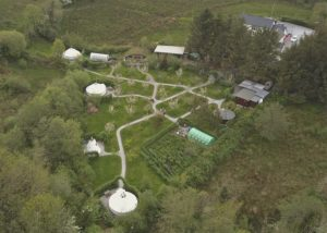 Glamping, Leitrim, Ireland, Pink Apple Orchard,